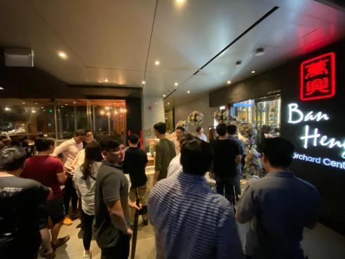 BMW Car Club Singapore (BCCS) Welcome Dinner 1st Nov 2019