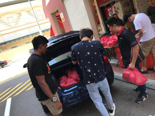 BMW F3X Group SG - Charity Work at Awwa Community Centre